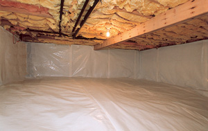 CleanSpace® vapor barrier after in Birmingham