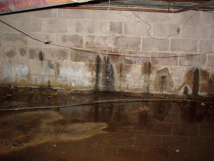 Damp Proofing The Outside Foundation Walls Foundation