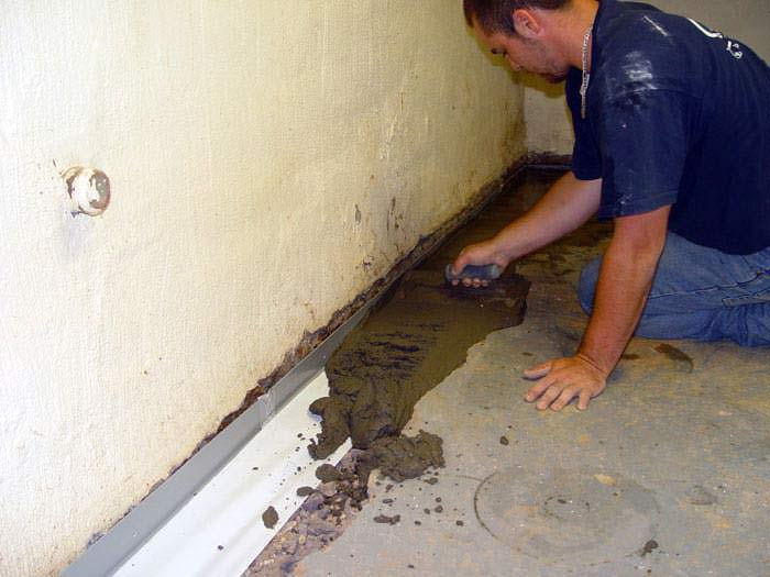 Drain Pipe Installation | Install A Warranted Basement Drain
