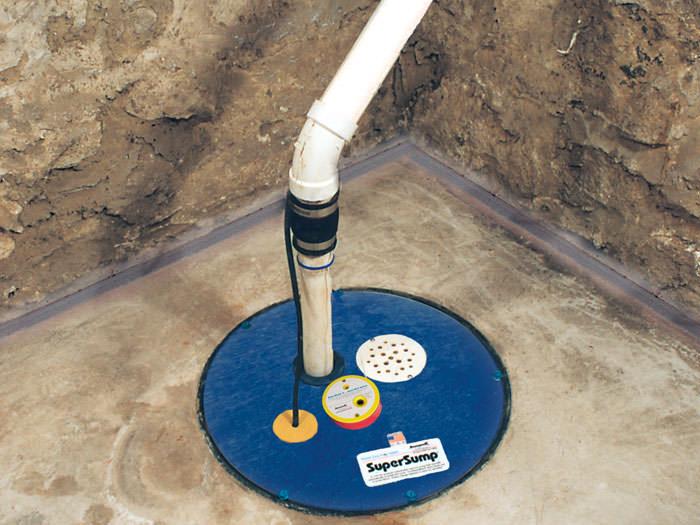 home sump pump supersump pump system