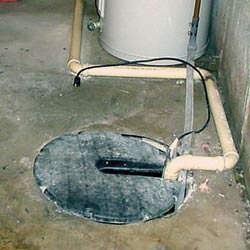 An unplugged sump pump that lead to basement flooding.