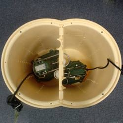 a submersible sump pump system liner