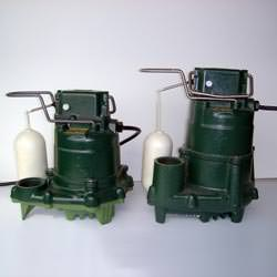 Zoeller sump pumps -- the M53 and M98