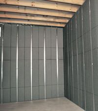 Thermal insulation panels for basement finishing in Manchester, Great Britain