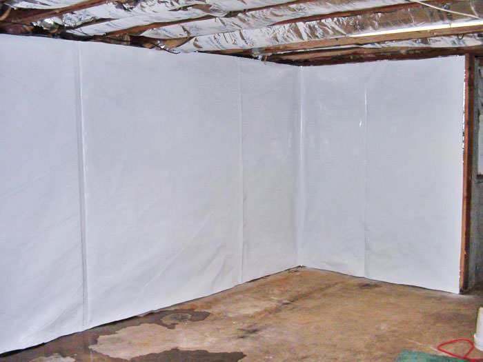 basement wall vapor barrier system in london birmingham
